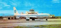Pan Am jet airliner on Beatrix Airport